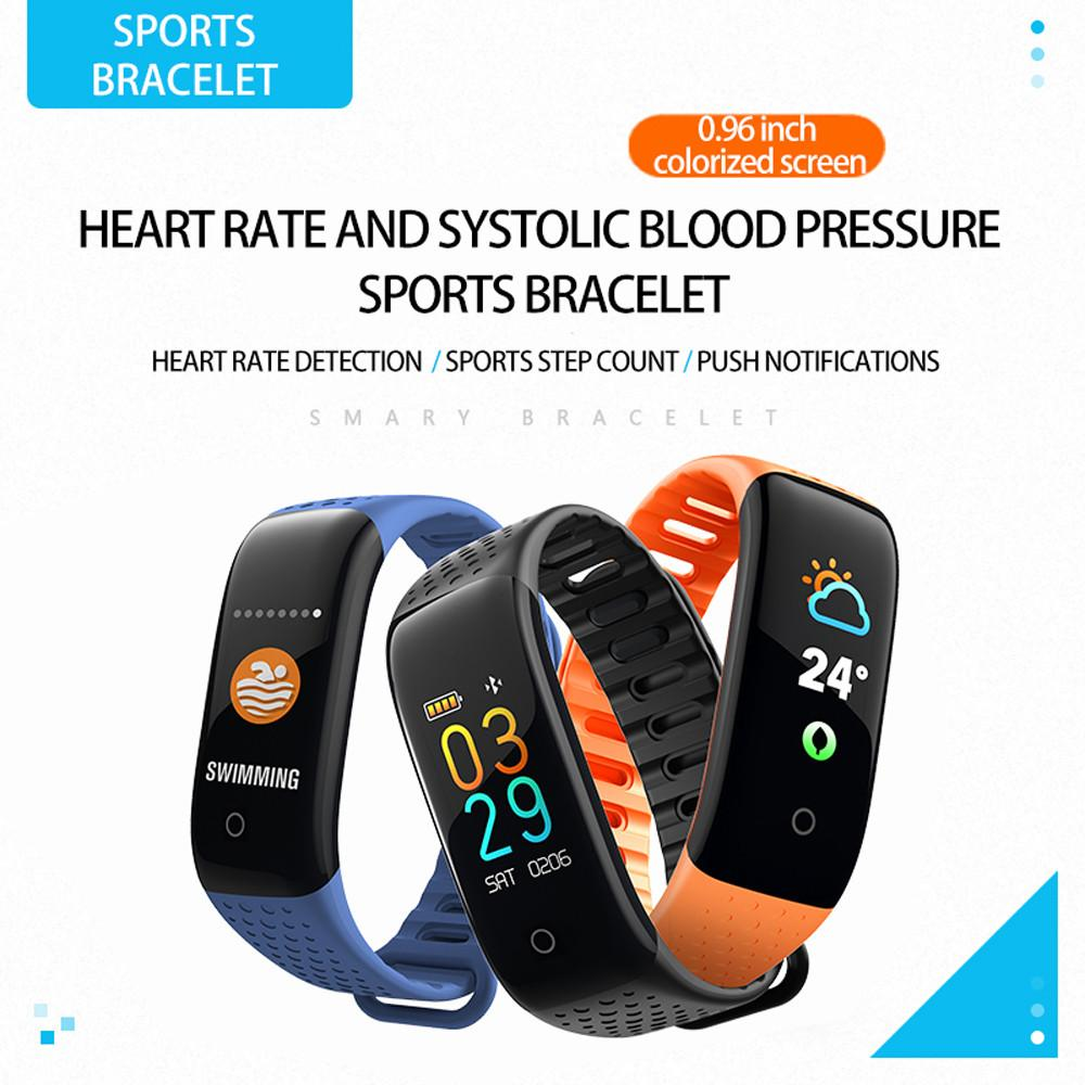 fc2ea75f40c1 Smart Watch Sports Fitness Activity Heart Rate Tracker Blood Pressure  wristband IP67 Waterproof band Pedometer for IOS Android