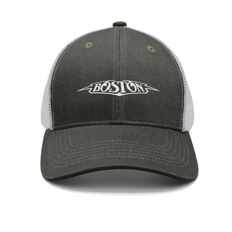 258c5134b Boston band logo army-green mens and women trucker cap ball design custom  sports hats