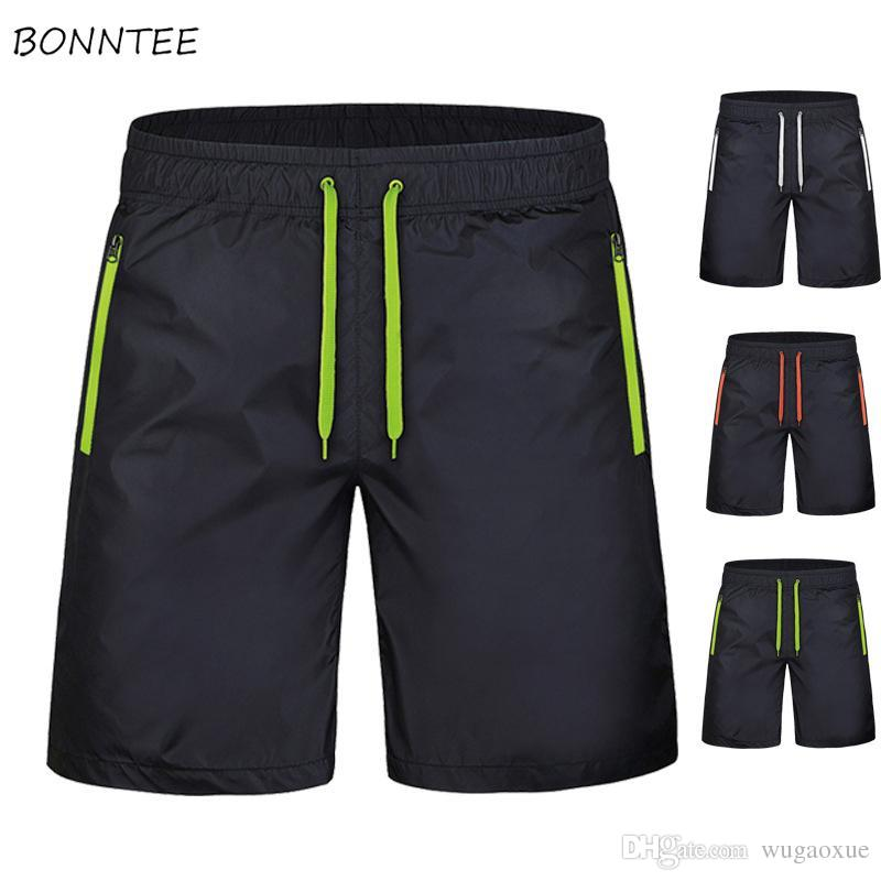 Board Shorts Men 8XL Summer Solid Simple All-match Loose Korean Style Breathable Thin Short Mens Large Size High Quality Ulzzang