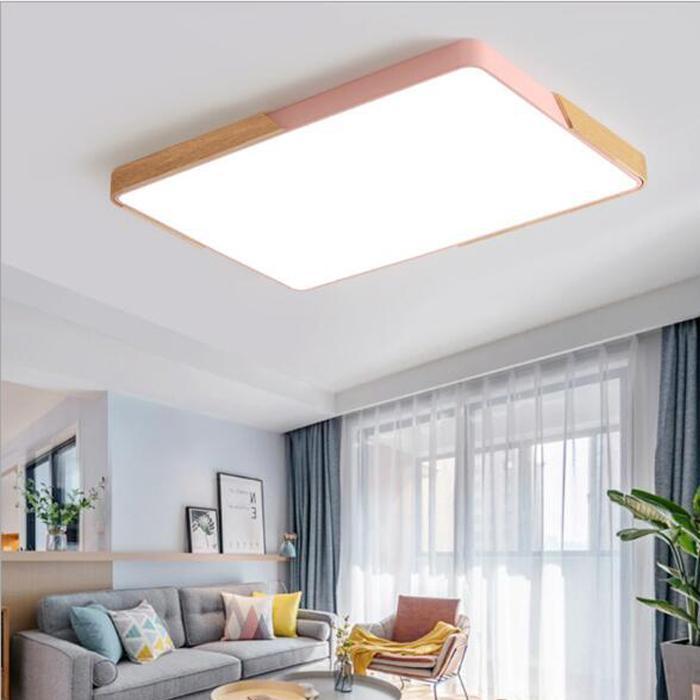 Acheter Led Plafonnier Moderne Lampe Salon Luminaire Chambre A