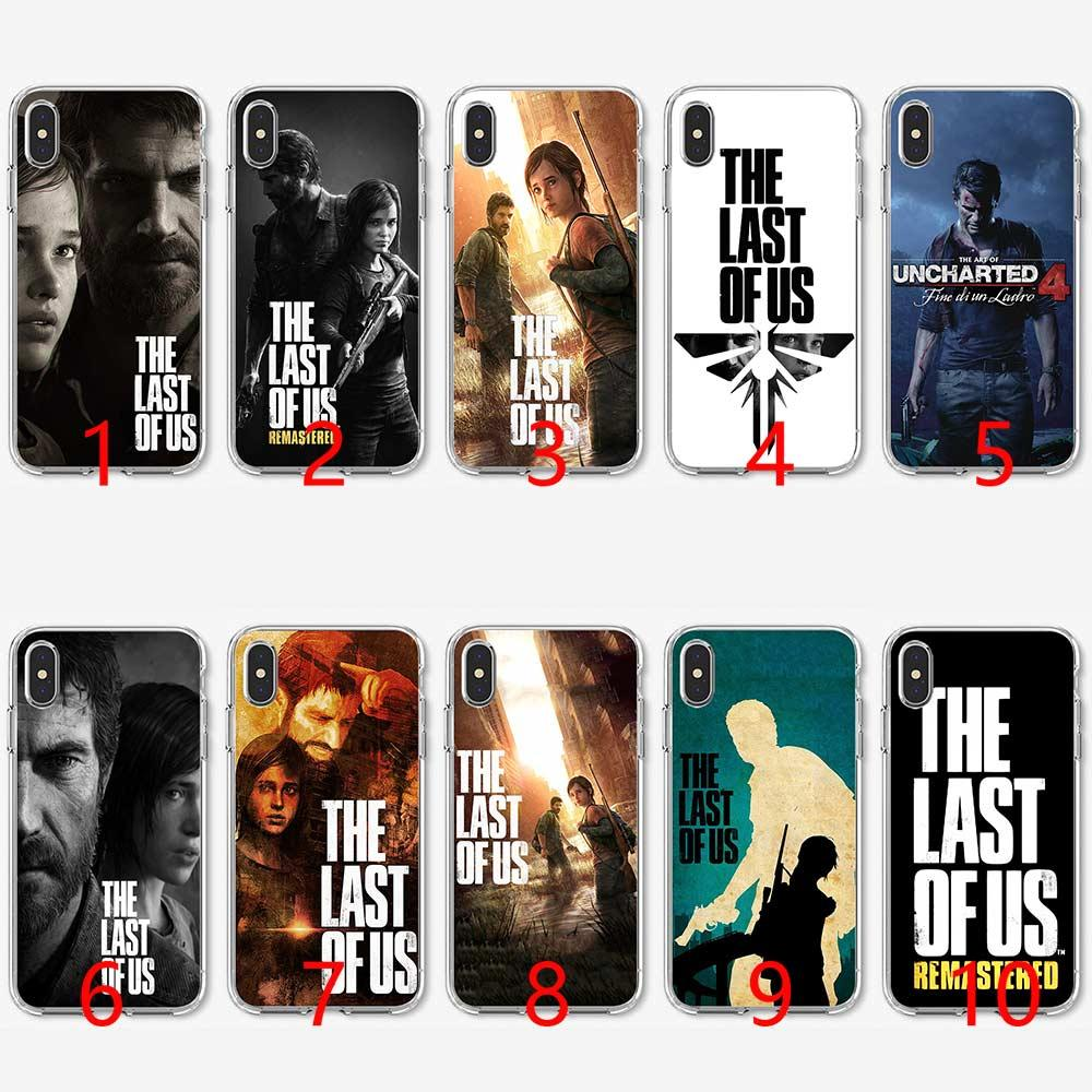 The Last Of Us Game Games Soft Silicone TPU Phone Case for iPhone 5 5S SE 6  6S 7 8 Plus X XR XS Max Cover