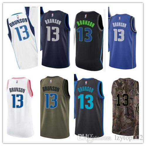 best cheap e35ca 1b45d 2019 custom Men/WOMEN/youth Dallas Maverick jersey 13 Jalen Brunson  basketball jerseys free ship size s-xxl message name number