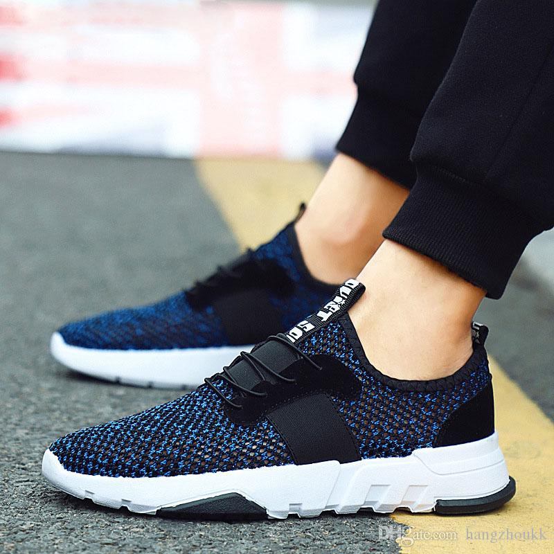 mesh shoes men 2019 sneakers breathable shoes men sneakers casual shoes men summer tenis
