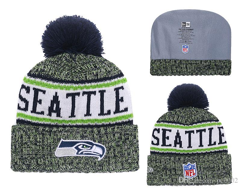 b337d6017 Men's Seattle Seahawks New Navy 2018 Sideline Cold Weather Official ...
