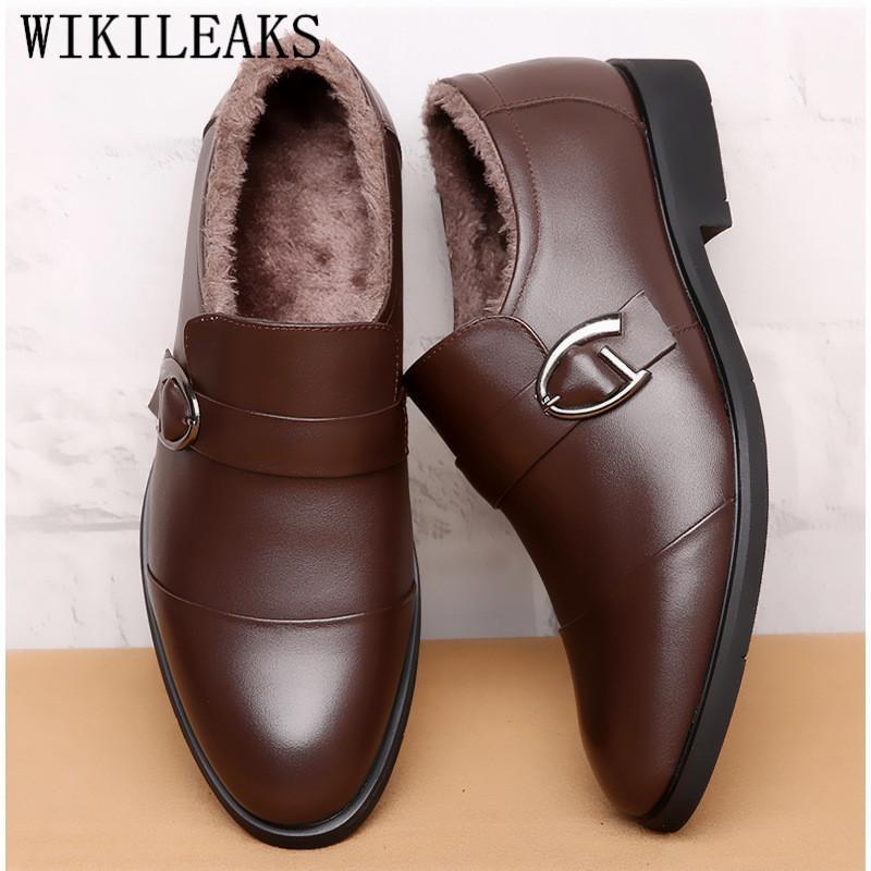 a62d3d86f2 Compre Zapatos Oxford Para Hombres Zapatos De Vestir Zapatos De Hombre De  Vestir Hombres Formales Monk Strap Zapatos Vestir Elegante Hombre.