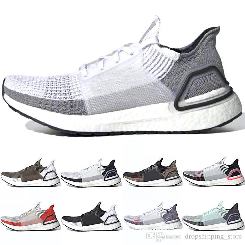 80446e33 Adidas 2019 Ultra Boost 5.0 Hombres Mujeres Zapatos Para Correr 19  Ultraboost Láser Rojo Oreo Core Negro Píxel Oscuro Refractar Mejor Nuevo  Zapatilla ...