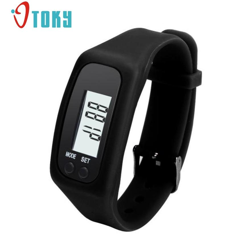 ef28ac2bfb8 New Arrive Reloj Hombre Digital Deportivo Hot Silica LCD Pedometer Run Step  Walking Distance Calorie Counter Wrist Watch Gift Digital Watches Cheap  Digital ...