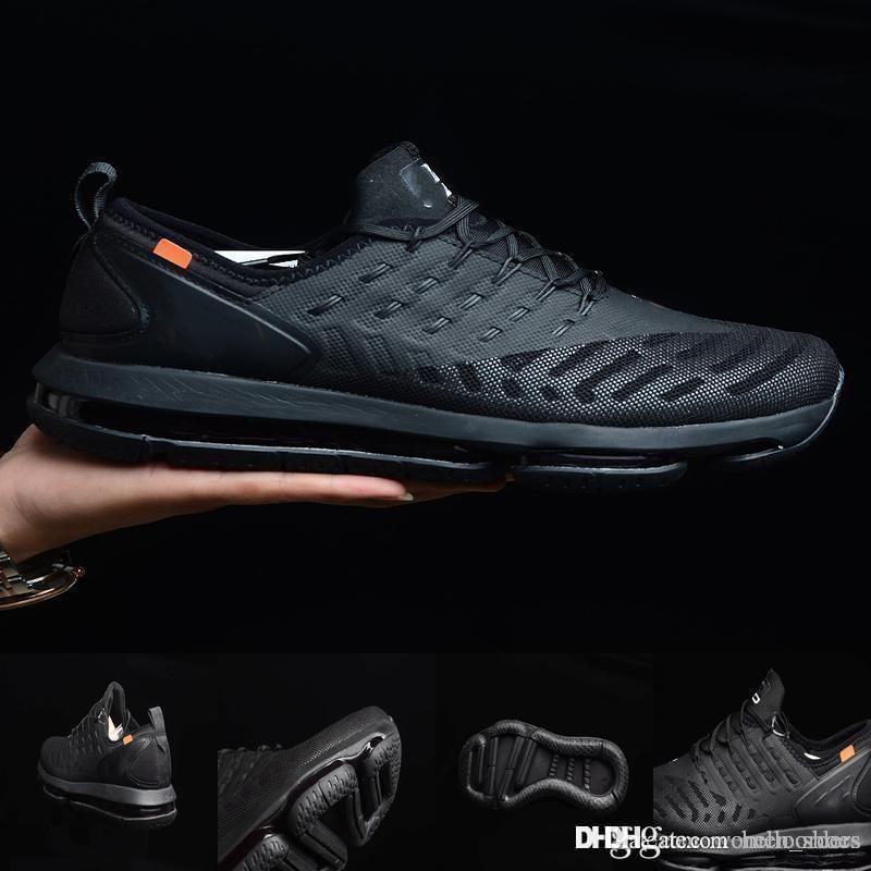 e4ac11eb1 Compre Top 97 Running MD Cushion Shoes Alta Calidad Fabricantes Baloncesto  Zapatillas Deportivas Deportivas Al Aire Libre Blanco Negro Para Hombres Y  ...