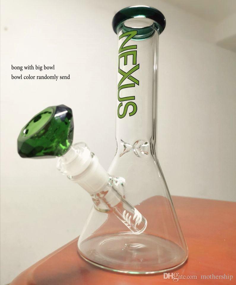 Hotstyle édition limitée bécher bang mini verre brûleur à mazout en verre tête en verre pipe à eau narguilé bang de glace fumer avec banger quartz