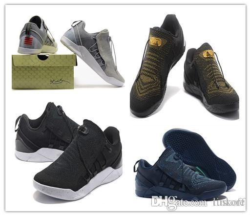 detailed look 0d9a4 4bde1 Cheap 2019 New Sale KOBE A.D. NXT 12 12s Men Basketball Shoes KB XII Zoom  Sport Shoes Yellow Blue White Black Wolf Grey Sneakers TINKOFF