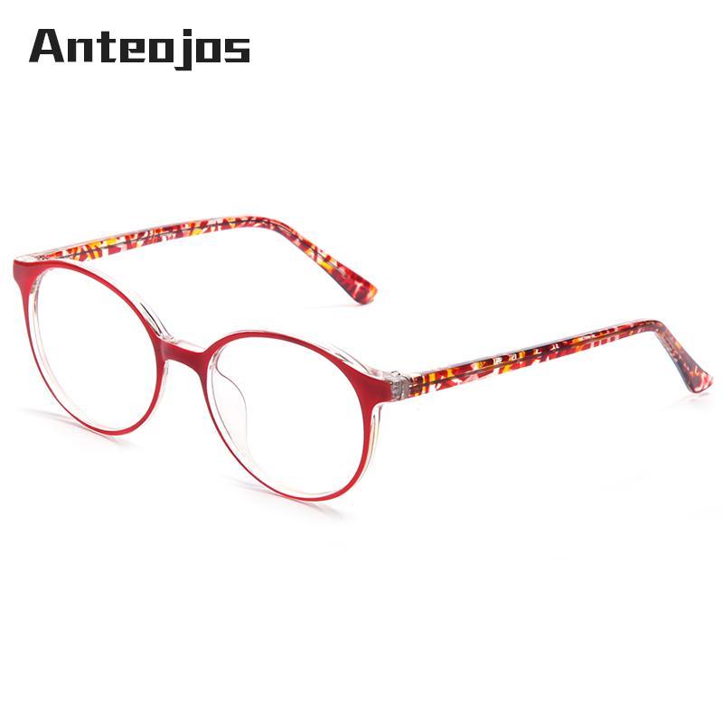 edcae4c961 ANTEOJOS Retro Round Glasses Women s Eyeglass Frames 2019 Korea ...