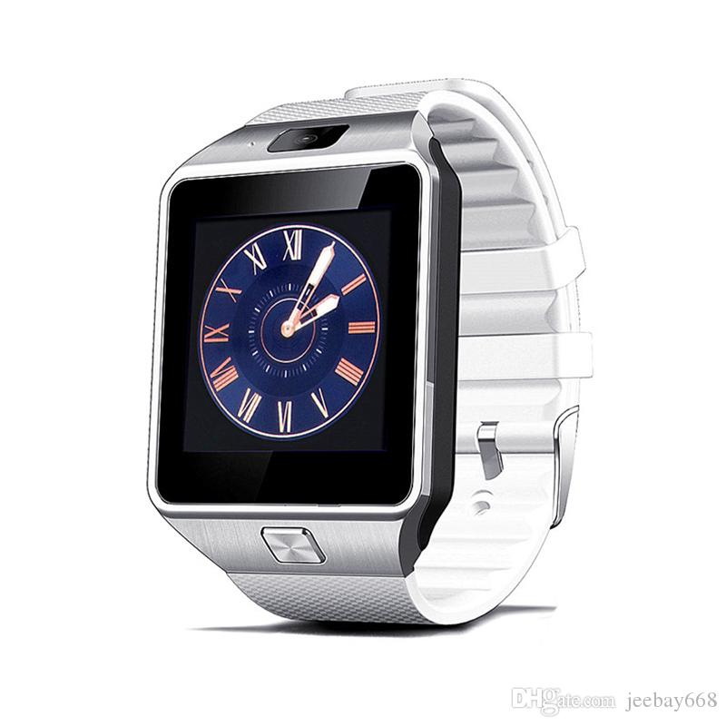 DZ09 smart watch Android phone call 2G GSM SIM card camera Bluetooth smart watch for andoid and ios