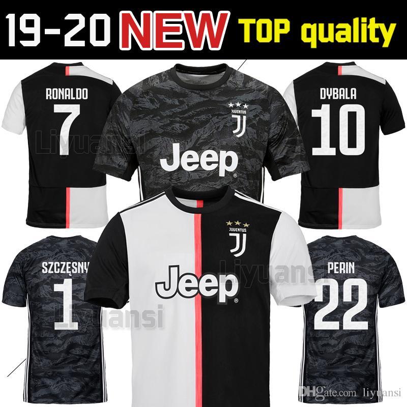 sale retailer da5ea aa4bb NEW Juventus soccer jersey adult football shirt 2019 2020 RONALDO 18 19 20  uniforms champions Bernardeschi DYBALA JUVE goalkeeper shirt