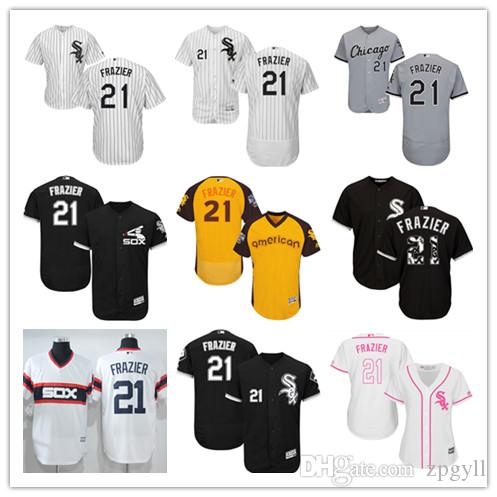 2019 benutzerdefinierte Männer White Sox 21 Welington Castillo Majestic Home Cool Base Spieler Chicago Frauen Kinder Jersey