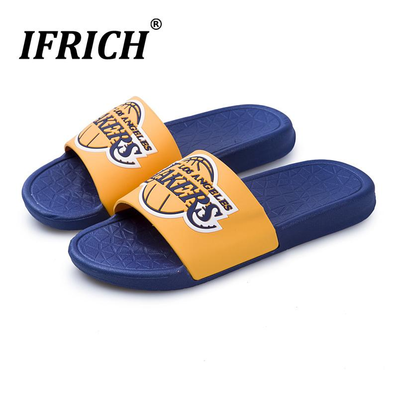 0179a5851 2019 New Trend Slippers Summer Men Red Outdoor Soft Slippers Man ...