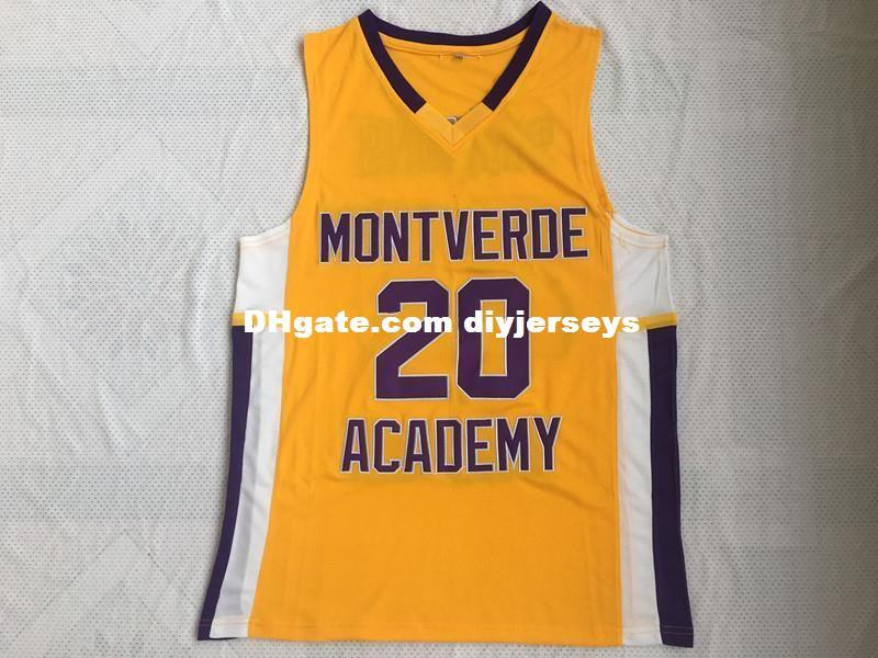new concept 0cd8b bba81 Ben Simmons 20 Montverde Academy Eagles Retro Top College Basketball  Jerseys Mens 100% Double Stitched Top Quality XS-5XL vest Jerseys NCAA