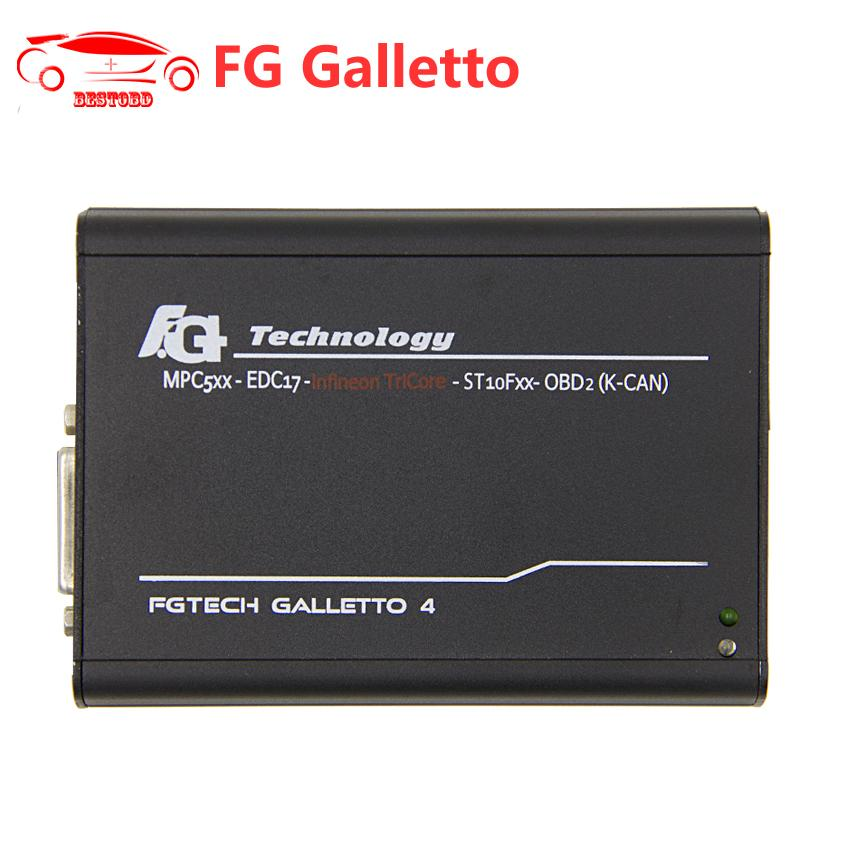 ECU Diagnostic Tool FGTech Galletto 4 V54 OBD2 ECU Chip Tuning Support Tricore Function with Multi-language