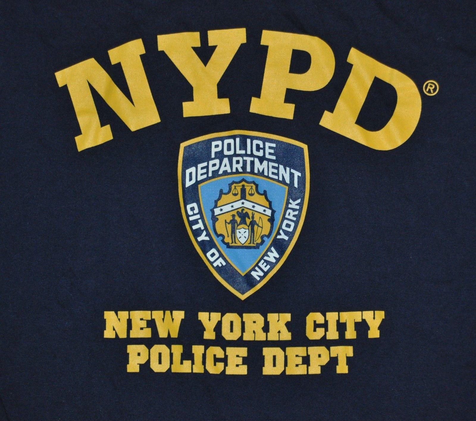 bc57ad6f T SHIRT S SMALL NYPD NEW YORK CITY POLICE DEPARTMENT Popular T ...
