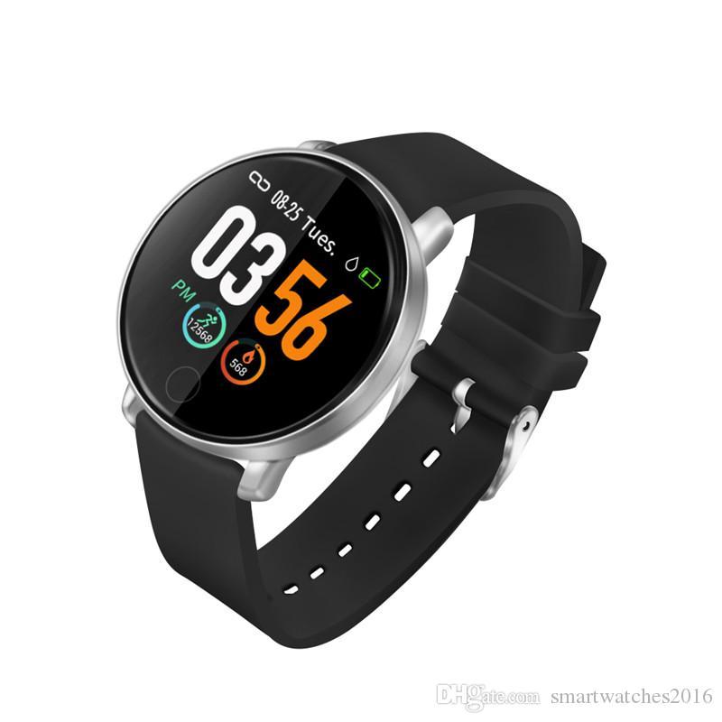 S226D Smart Watch 1 3 Inch Fitness Tracker Bracelet Round IP67 Waterproof  Heart Rate Blood Pressure Sports Monitoring Smart watch