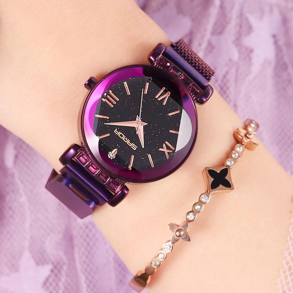 d6bb7b1f3a55 Compre 2018 Números Romanos Relojes De Lujo Para Mujer Reloj De Pulsera De  Cristal De Oro Rosa Para Mujer Reloj Impermeable Para Mujer Reloj Relogio  ...