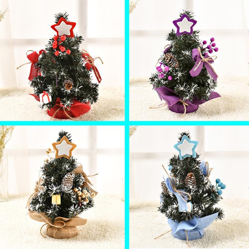 Albero Di Natale 50 Cm.Albero Di Natale Da 30cm A 50cm Mini Bellissime Decorazioni Per L Albero Di Natale Vetrina Decorazione Da Tavolo S05