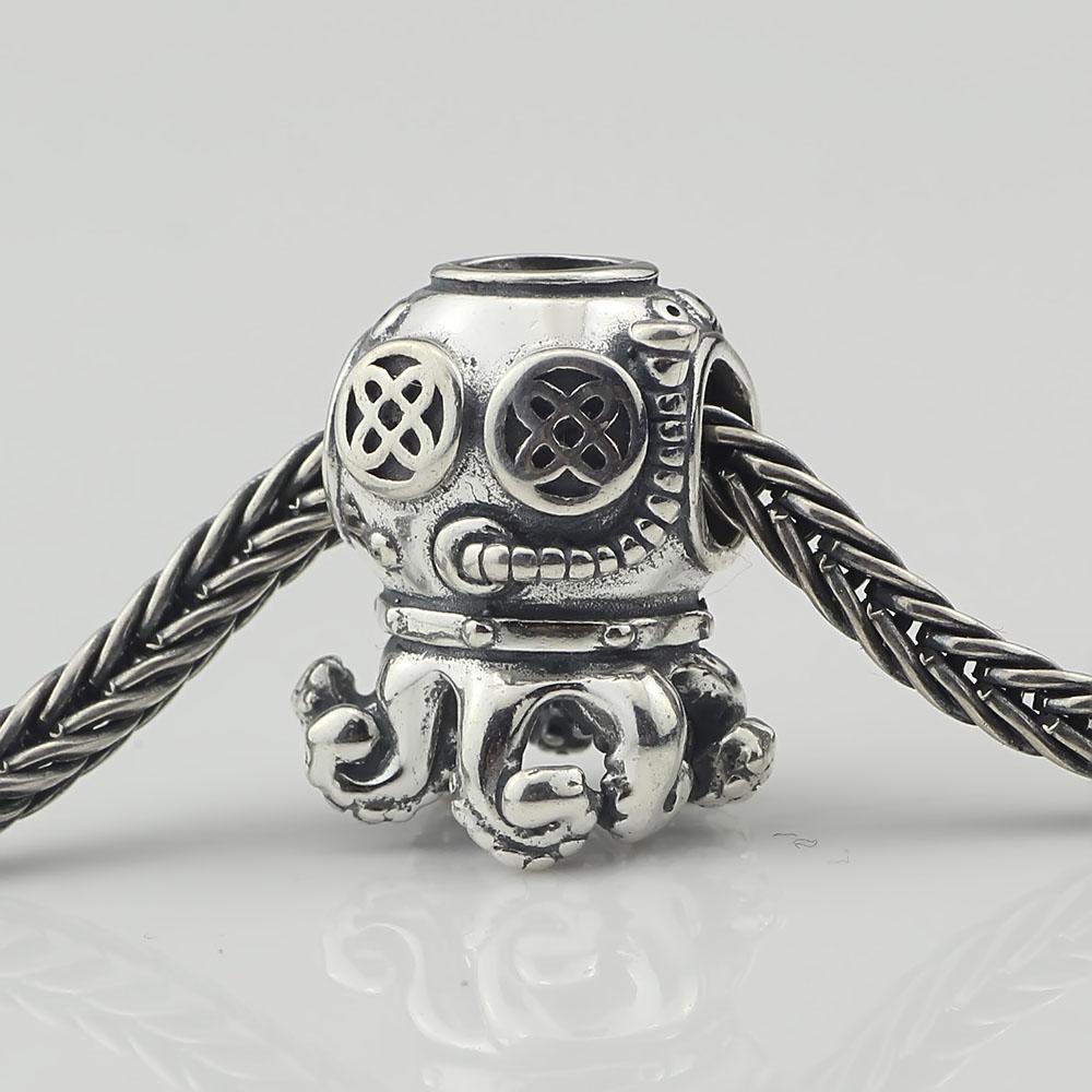Vente chaude 100% 925 Bague En Argent Sterling Fit pour Pandora Bracelet Bijoux De Mode DIY Charm Marque
