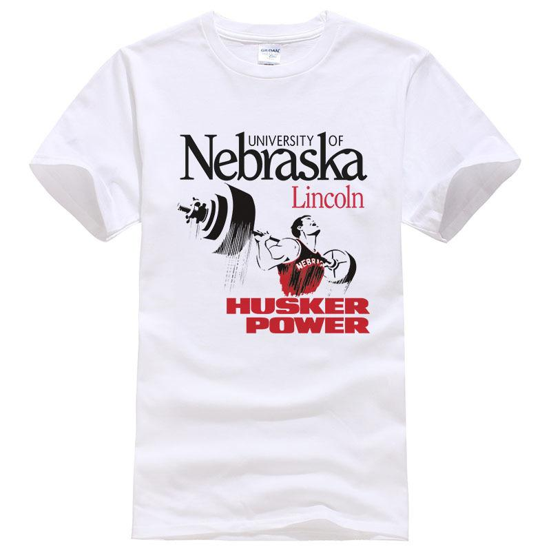 965211619 University Of Nebraska Lincoln Husker Power T Shirt Fashion Men Women T  Shirt Short Sleeve Cotton Fitness Cool Tee Tops #116 Shop T Shirts Online T  Shirt ...