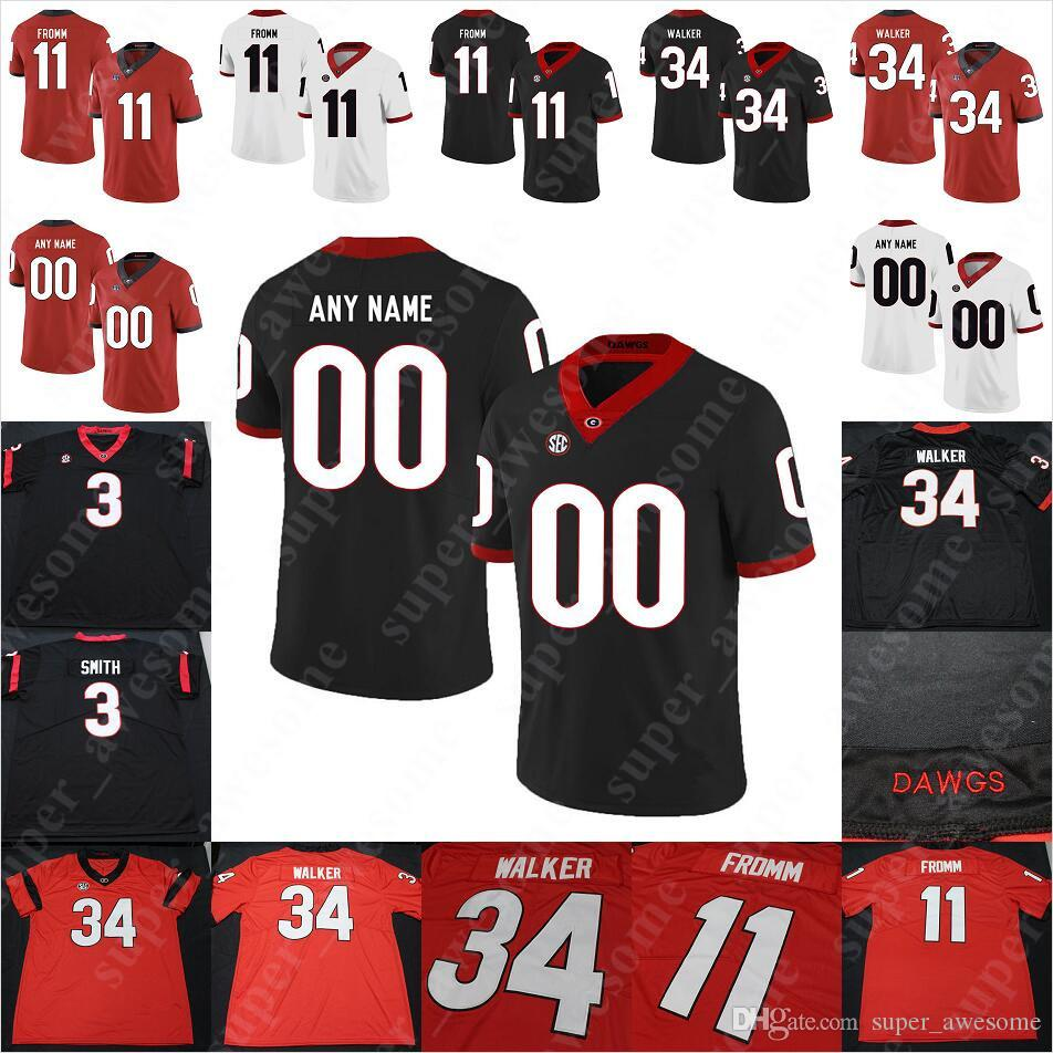 check out c124d 1eb8f Georgia Bulldogs Football Jersey Cade Mays Brenton Cox D Andre Swift Quay  Walker Jake Fromm Andrew Thomas Cook Deangelo Gibbs Luke Ford