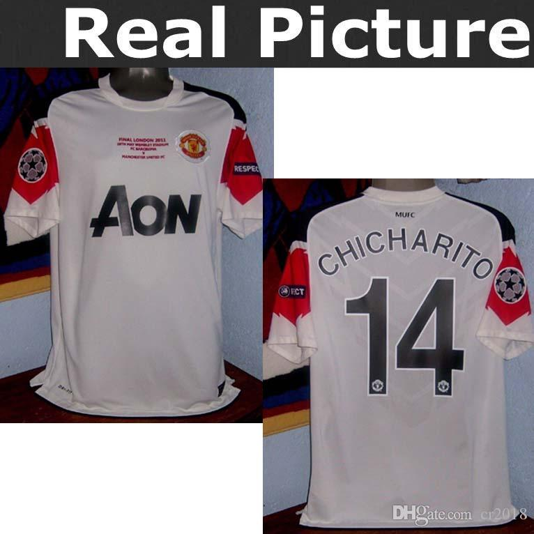 86fc8b1b14a 2019 2010 2011 Manchester United Retro Jersey 11 12 Manchester United  ROONEY CHICHARITO GIGGS OWEN SCHOLES CARRICK Jersey From Cr2018