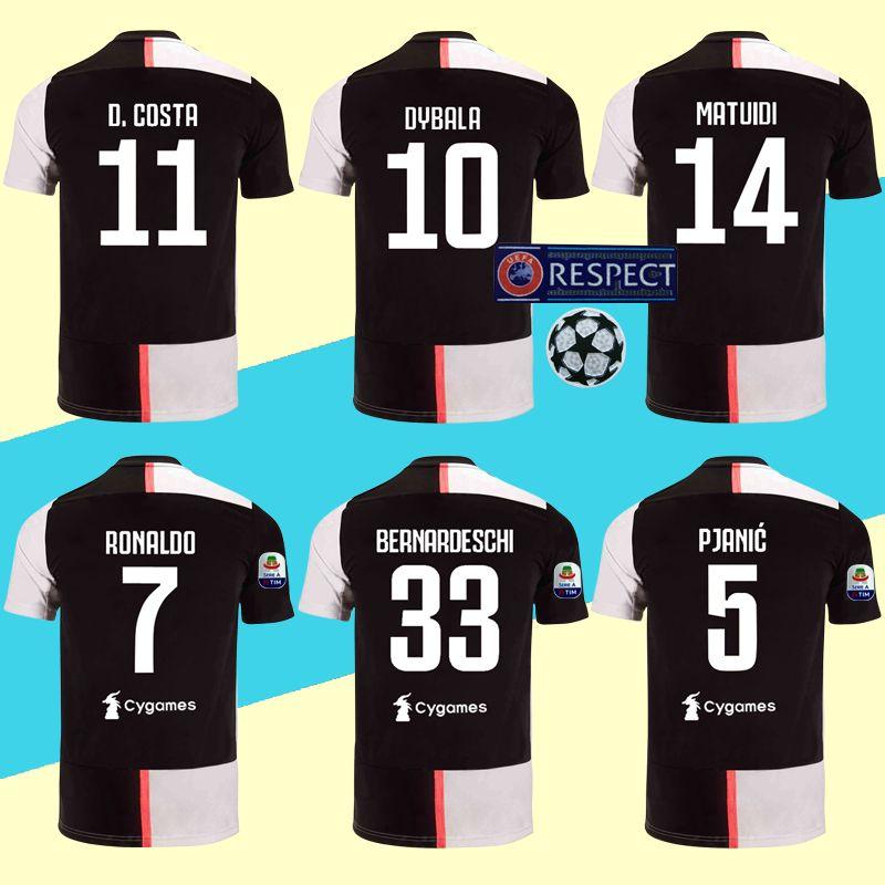 designer fashion b7689 02a59 Ronaldo Juve Jerseys 2020 Soccer Shirt Dybala 19 20 MANDZUKIC BONUCCI KEAN  Top Quality Maillot De Foot More 10pcs Free DHL Shipping