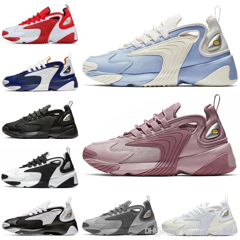 Detalles acerca de Para Mujer Zapatos Nike Zoom 2K Casual BlancoNegro AO0354 100 mostrar título original