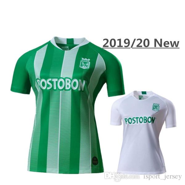 2019 Atletico Nacional Medellin Soccer Jerseys 19 20 Medellin Home green Away white Football Shirts Colombian Primera Soccer Shirt Top Thai