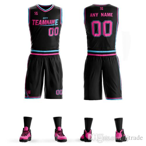 8cc607a327b 2019 men's and women's retro training set blank university sportswear  breathable basketball uniform summer sleeveless custom suit