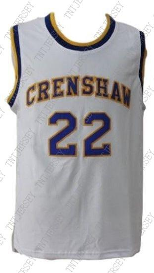 ceb646ebd8e9 2019 Wholesale McCall  22 Crenshaw Love And Basketball Jersey New White  Stitched Custom Any Number Name MEN WOMEN YOUTH BASKETBALL JERSEYS From  Tntjersey