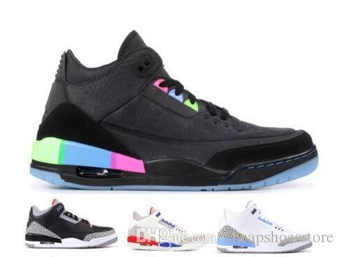 info for f1bb2 f8cb5 Mens basketball shoes 3s Quai 54 chlorophyll Tinker Fire Red White Black  Cement Fire Red True Blue Pure White Sports sneakers Size 7-13