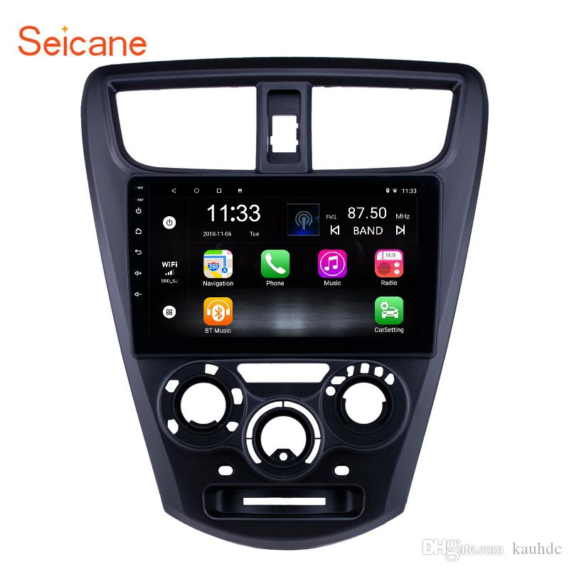 OEM 9 pollici Android 7.1 GPS Navi Autoradio per 2015 Perodua Axia con Bluetooth WIFI HD Supporto touchscreen Carplay DVR Mirror Link TPMS