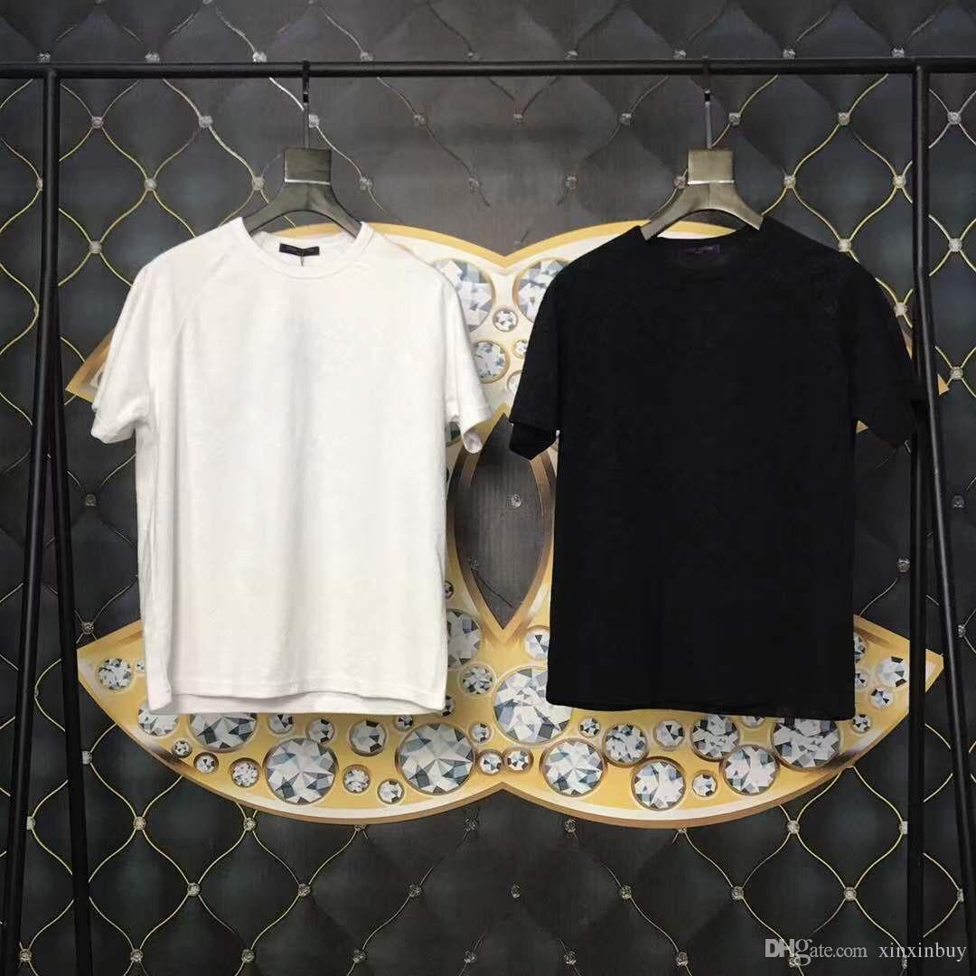 12c6bb17 INS Mens Designer T Shirts Fashion Luxury Imprint Paris Print Clothes  Jumper Short Sleeve Women Shirts Crew Neck Top Quality 19ss Random Graphic  Tees Quirky ...