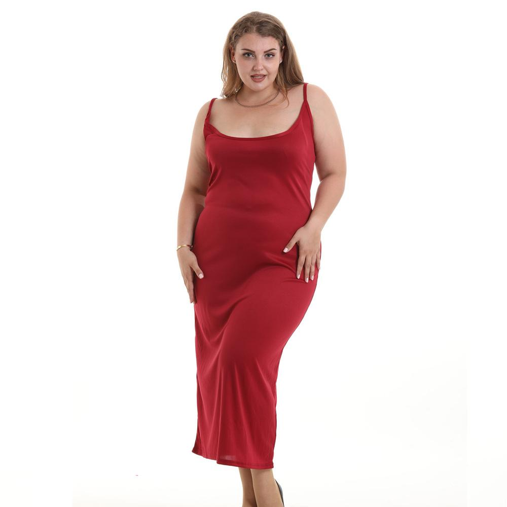 c86e7f8da46 2019 Summer Women Clothing Backless Dresses Knitted Plus Size S 6xl  European Dresses Maternity Clothing Pregnancy Women 5338 From Jeanyme