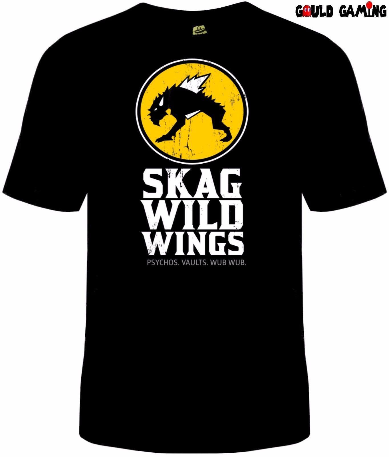 2b3201386 Borderlands Skag T Shirt Unisex Vault Hunter Buffalo Wild Wings ...