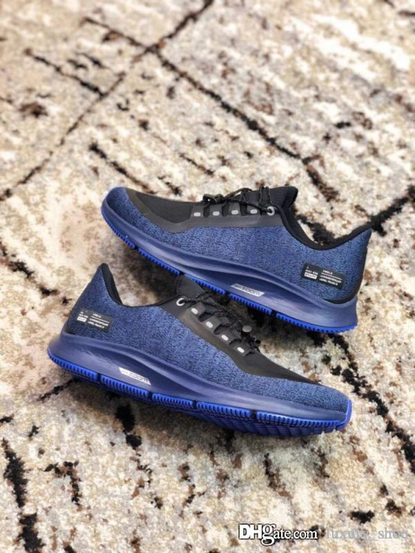 f8337be8d2599 Luxury Shoes Air Zoom Pegasus Turbo 35 Rn Shld Shoes Black Blue Sports  Sneakers Designer Fashion Luxury 2018 Brand Men Shoes Women Sneakers Oxford  Shoes ...