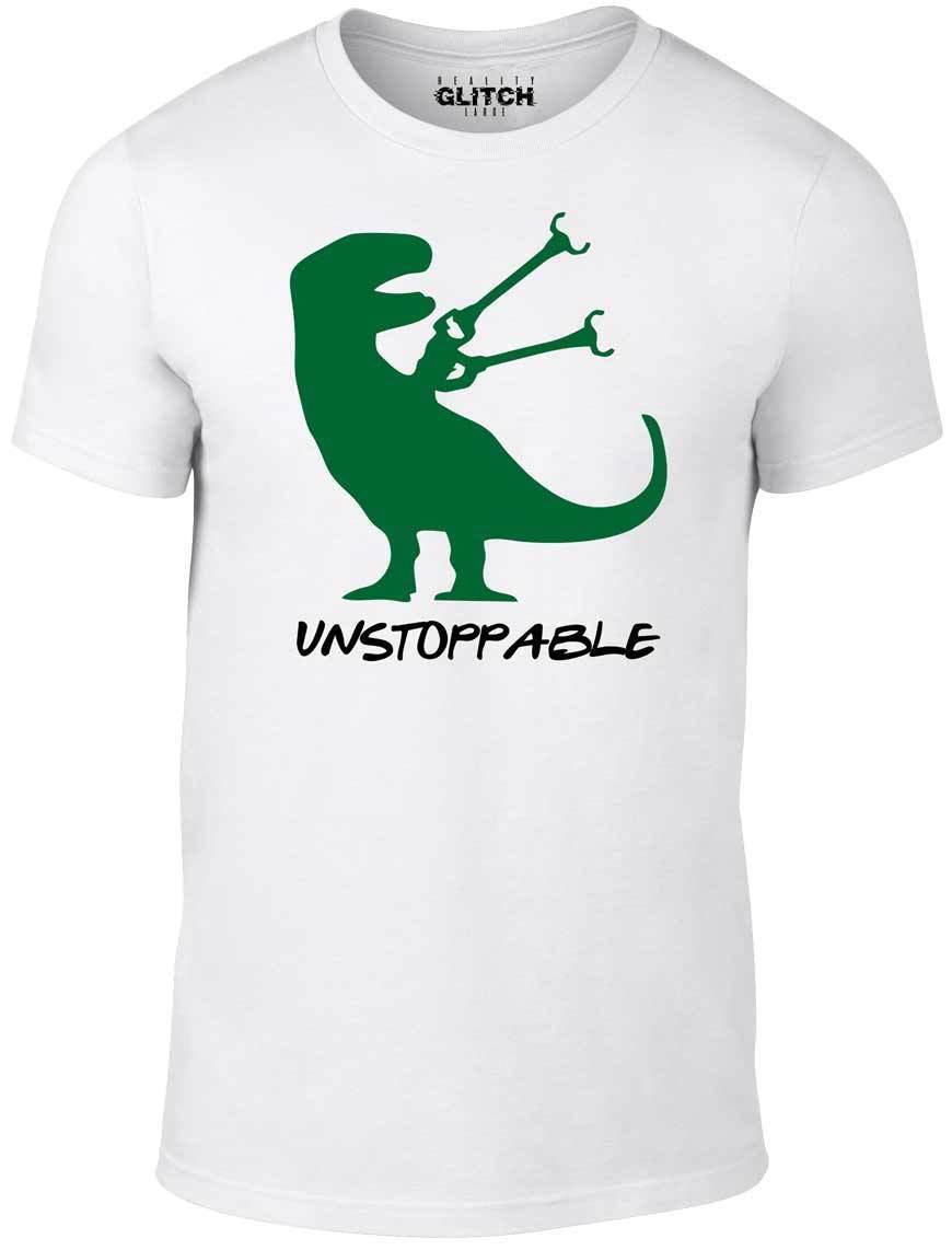 669b7d49 Unstoppable T Shirt Funny T Shirt Dinosaur T Rex Jurassic Retro Joke Gift  Cool Summer O Neck Tee, Cheap Tee,2019 Hot Tees Best T Shirt Online Buy  Funky T ...