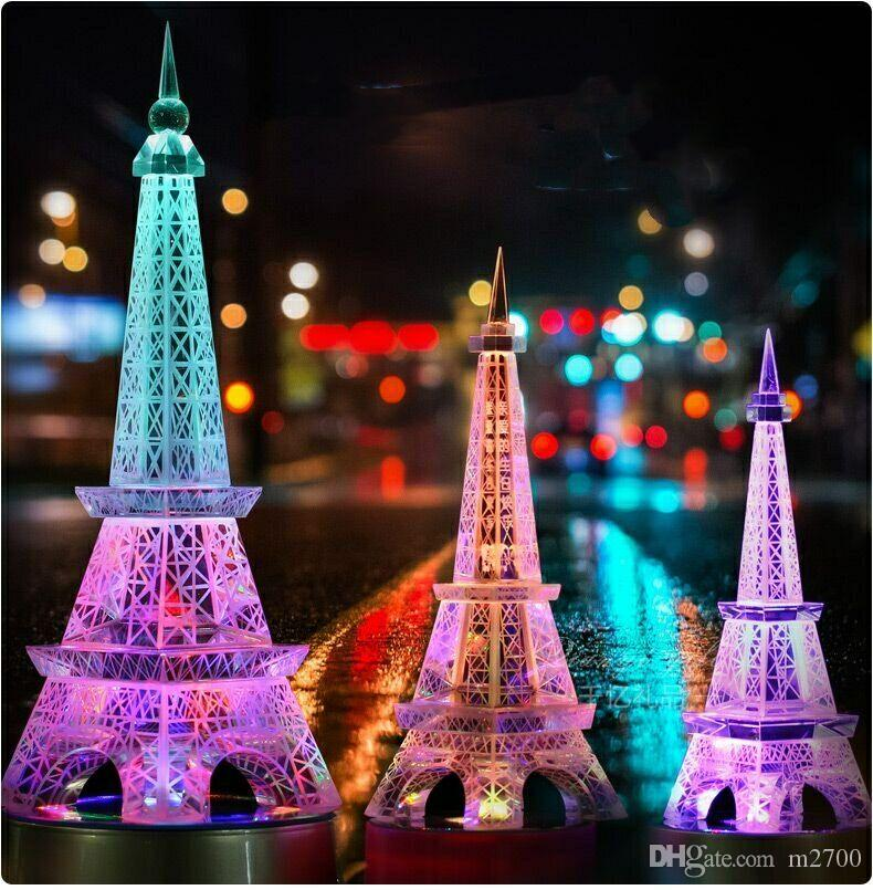 Desktop Decorationartificial Crystalparis Crystal Eiffel Tower