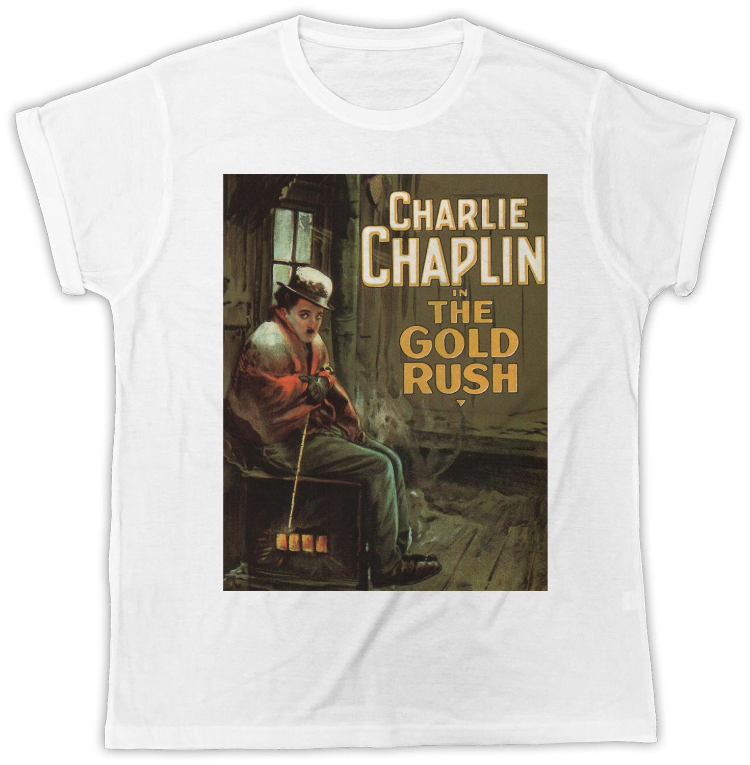 CHARLIE CHAPLIN MOVIE POSTER IDEAL BIRTHDAY GIFT DESIGNER COOL MENS T SHIRT Funny 100 Cotton Shirt Tees Cool Shirts From Dredcup 1624