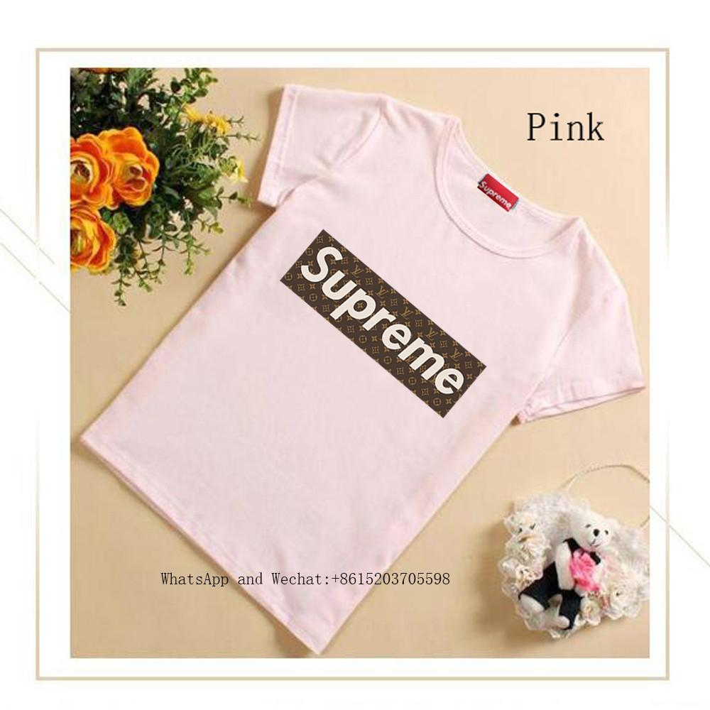 d656e63899f Short Sleeve Summer Wear Pure Cotton Cute T-shirt Child Shirt ...