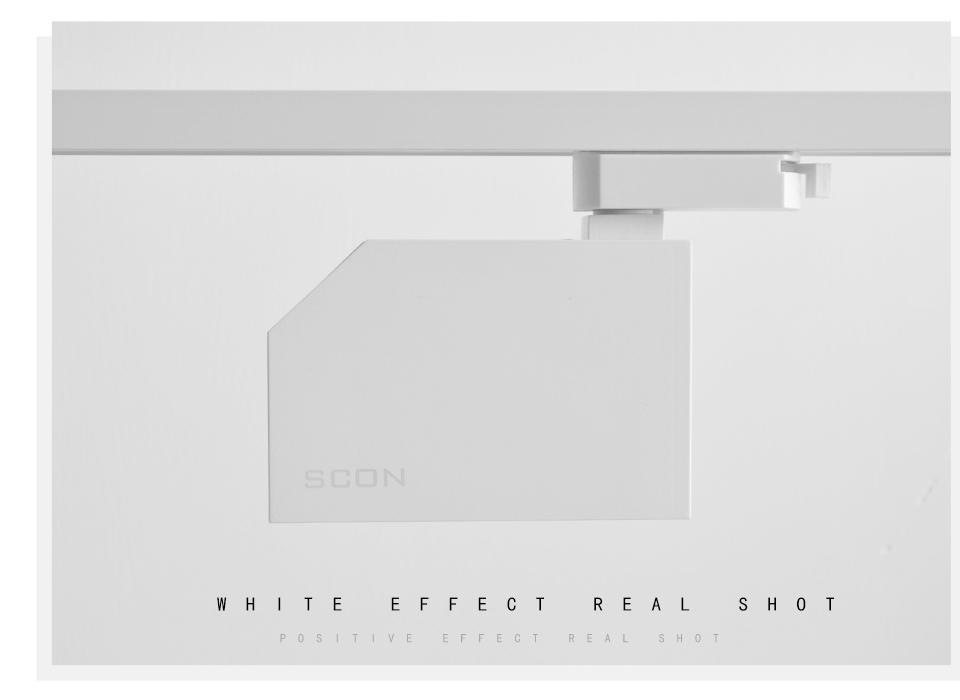SCON 7W Lampada a binario a binario sporgente moderno stile nordico COB OSRAM Soggiorno Divano backgroound a parete Faretto a LED a binario