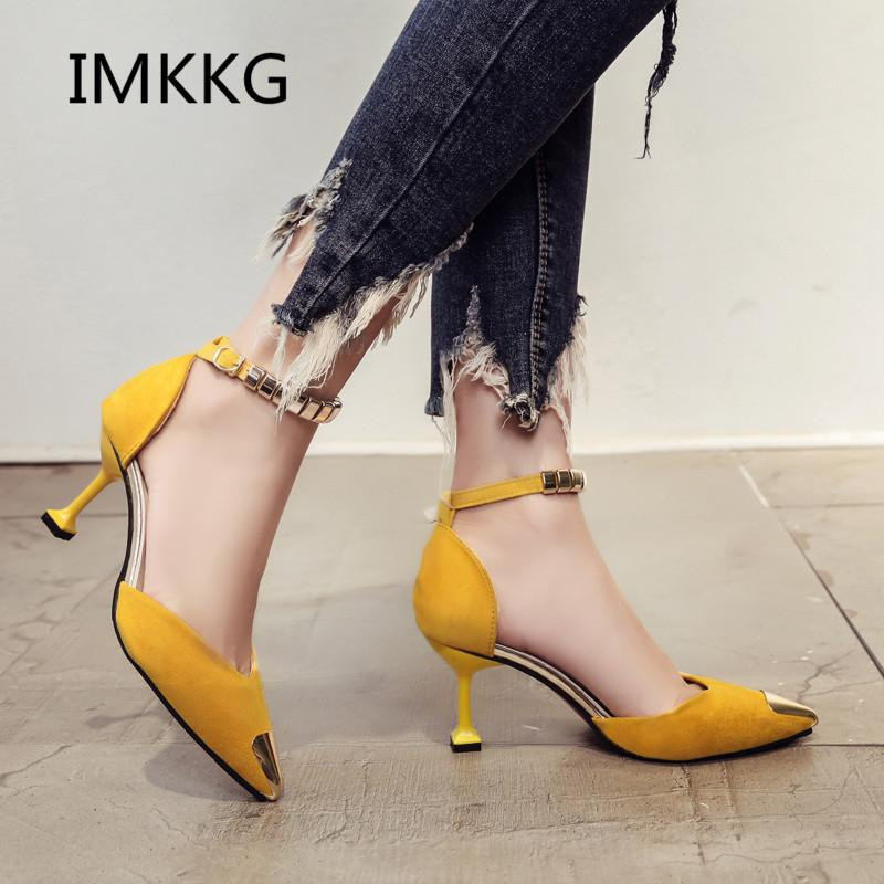 857e1ca5d044 Women Pumps Fashion Shoes For Woman Elegant Pointed Party Heels High Heel  Designer Ladies Dresses Shoes V009 Mens Sandals Mens Trainers From Koday