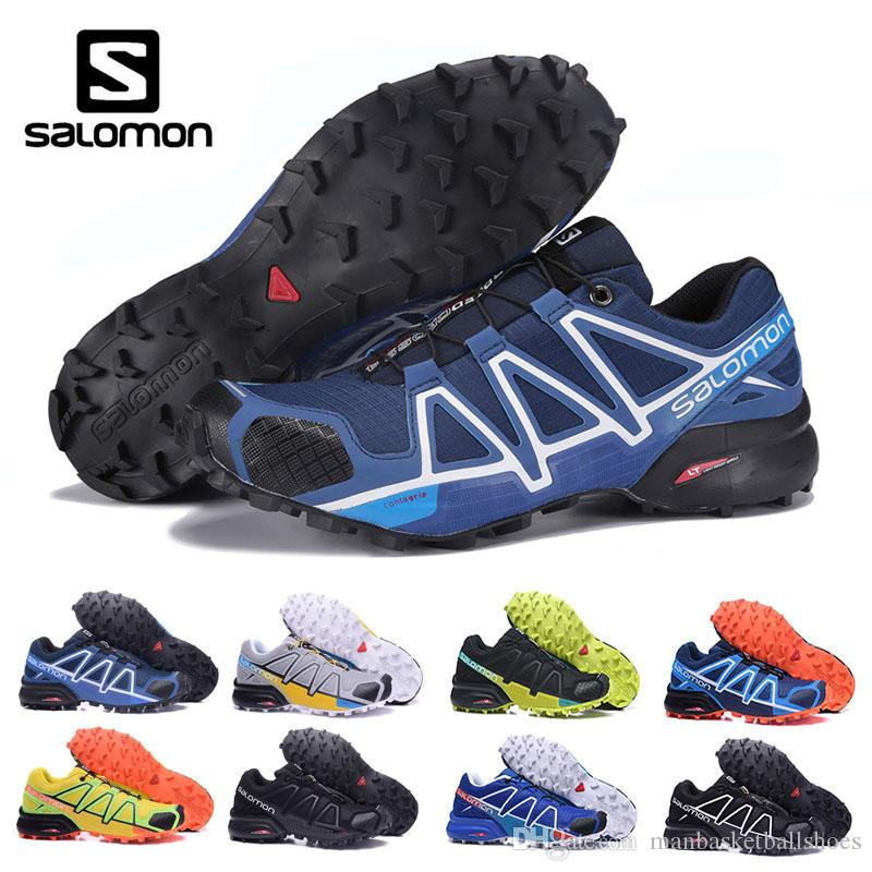 Salomon Speed Cross 4 CS cross-country running shoes Salomon Brand Sneakers Male Athletic Sport Shoes SPEEDCROSS PRO Fencing Shoes zapato