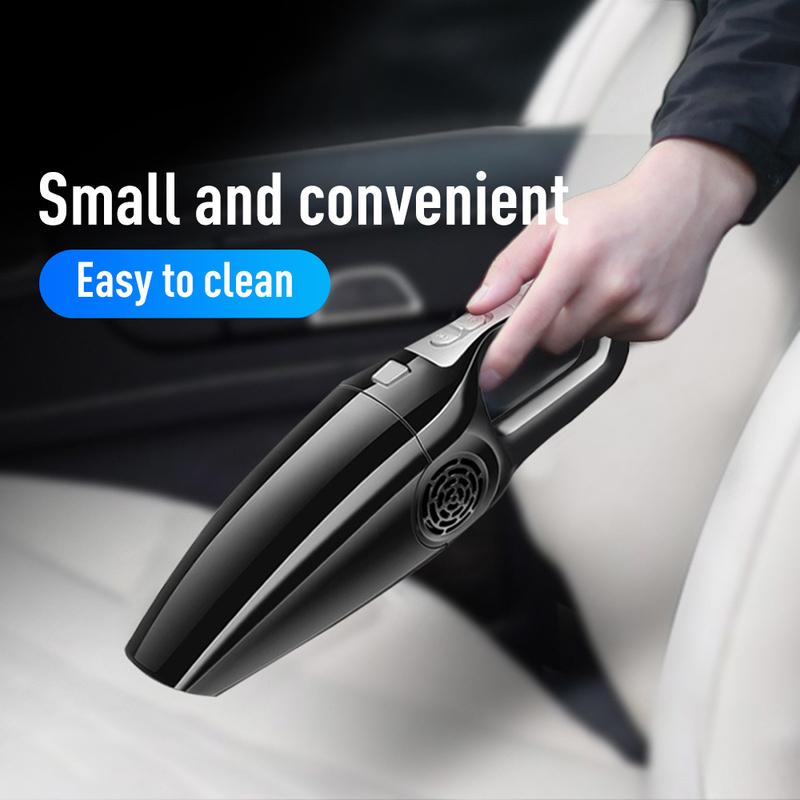 Car Vacuum Cleaner 12V 120W Suction Wet & Dry Use Wired Handheld Cord Portable Vacuum Auto Electrical Appliances Car Cleaner
