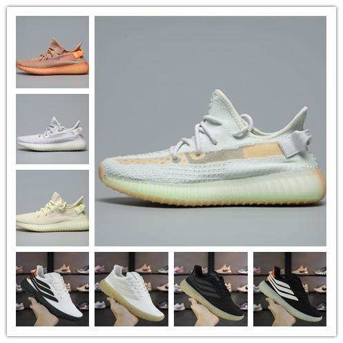 [With Box] Fashion Luxury Designer Women Shoes Mens SOBAKOV 450 450v350 Kanye West Beackham white running sneakers