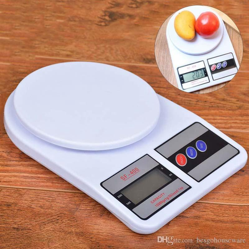 5kg/1g 1kg/0.1g Kitchen Scale Portable Electronic Digital Scales Food Measuring Weight Kitchen Scales Baking Delicate Scale BH2170 TQQ